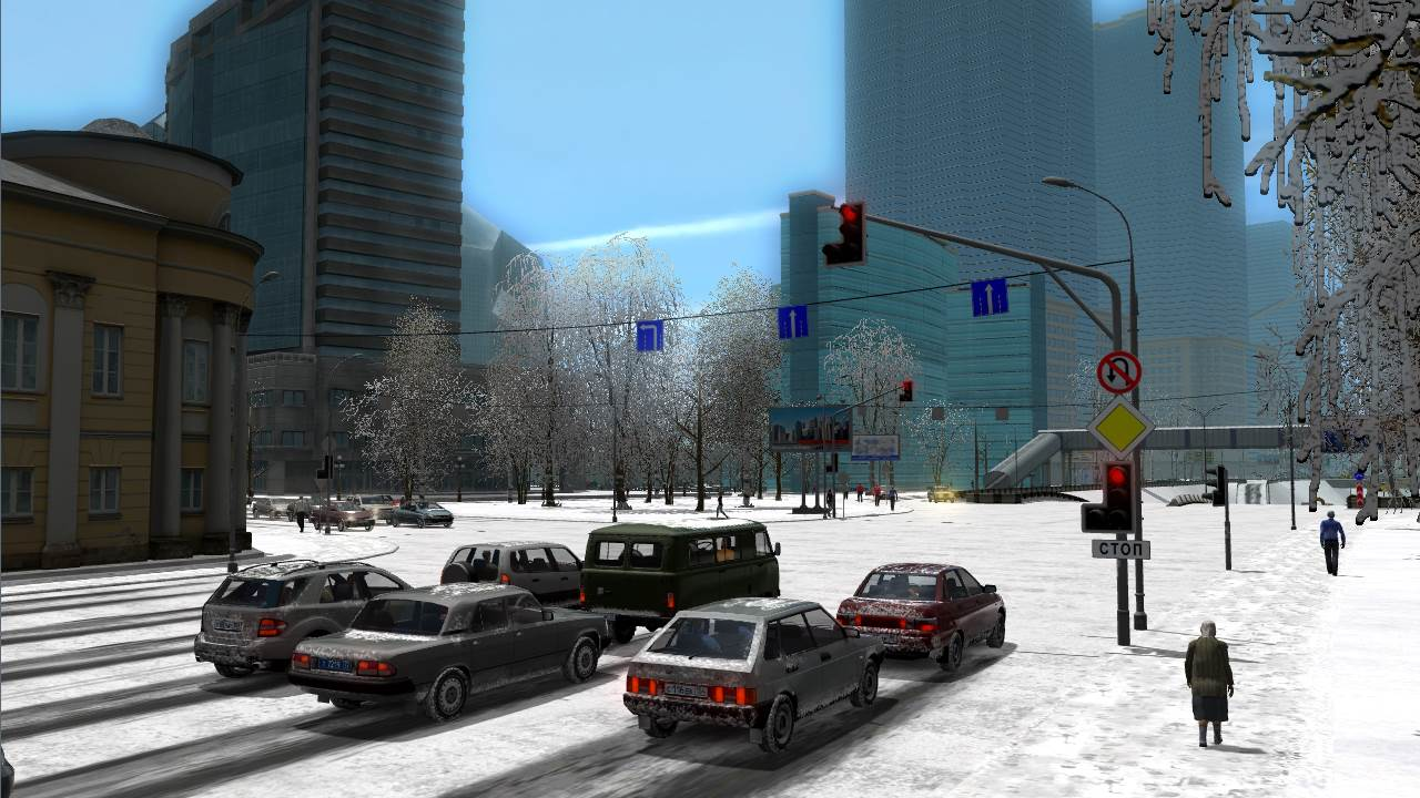 Screenshot Game City Car Driving