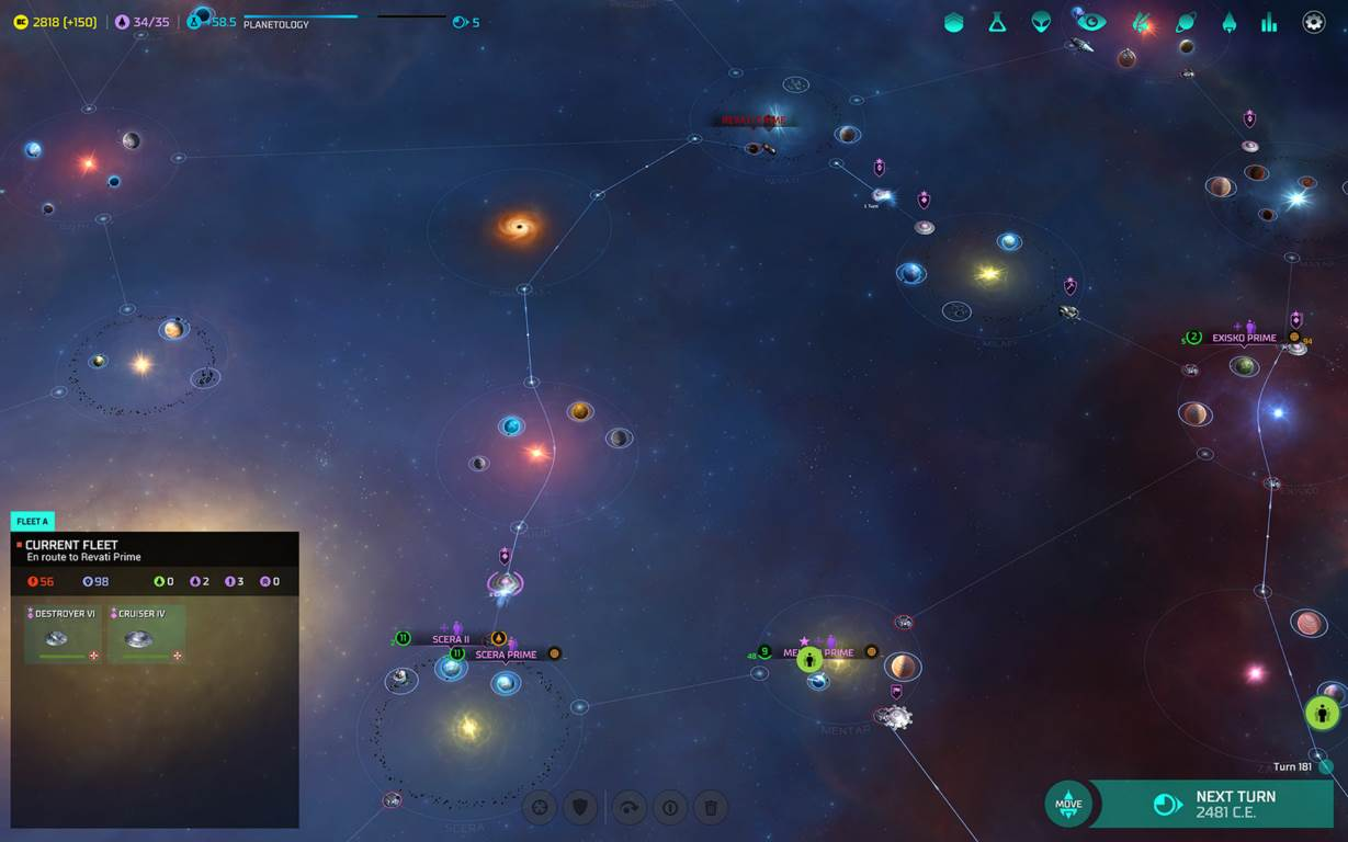 Screenshot Game Master of Orion