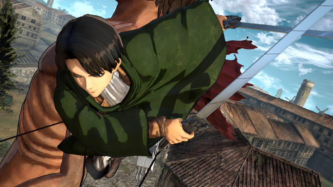 Screenshot Game Attack on Titan  A.O.T. Wings of Freedom