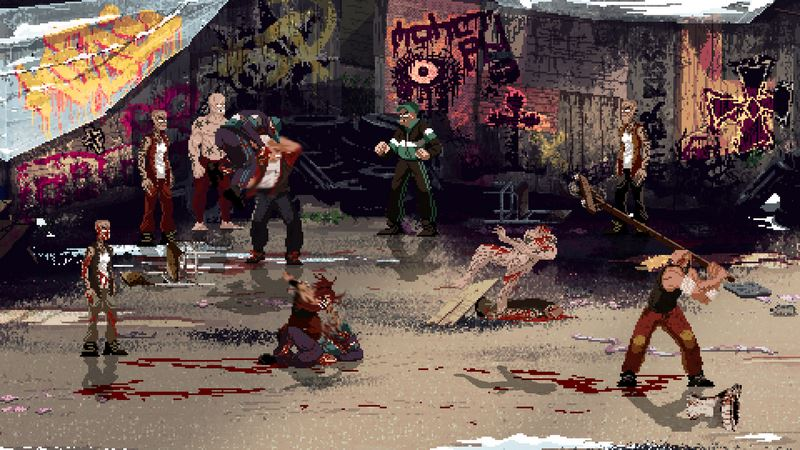 Screenshot Game Mother Russia Bleeds - CODEX