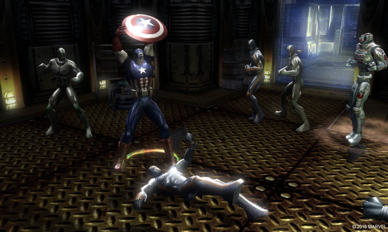 Screenshot Game Marvel Ultimate Alliance