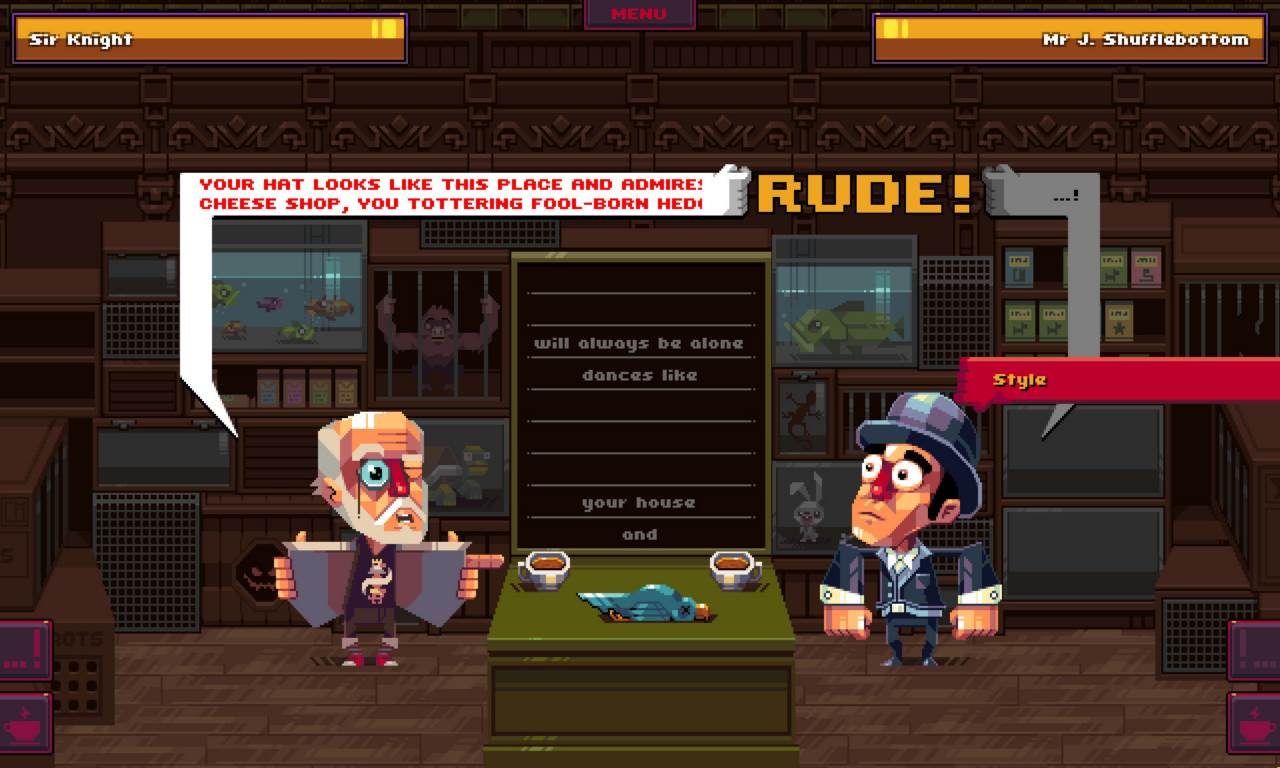 Screenshot Game Oh Sir The Insult Simulator