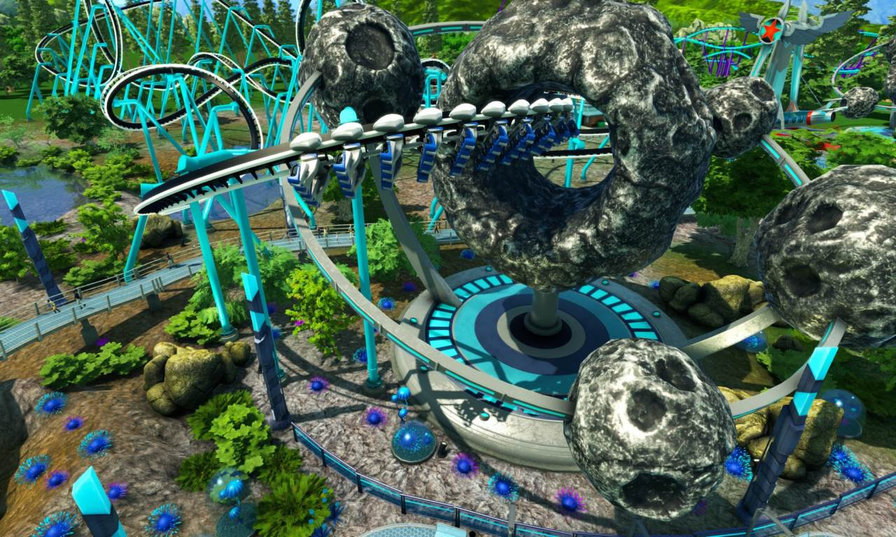 Screenshot Game RollerCoaster Tycoon World-RELOADED