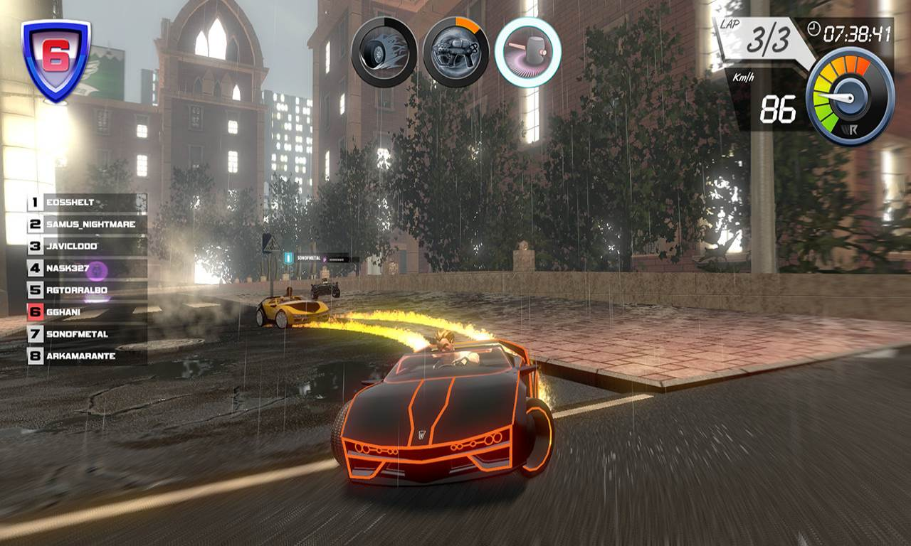 Screenshot Game Wincars Racer