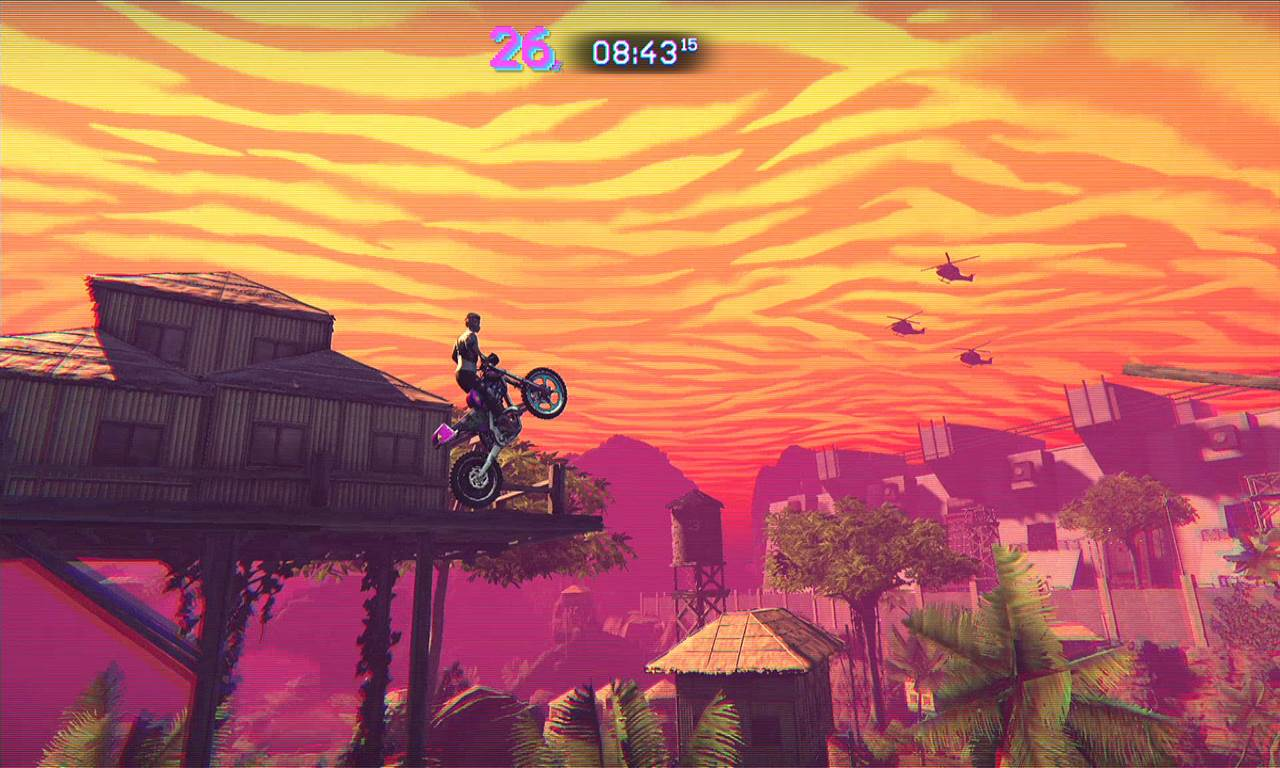 Screenshot Game Trials of the Blood Dragon