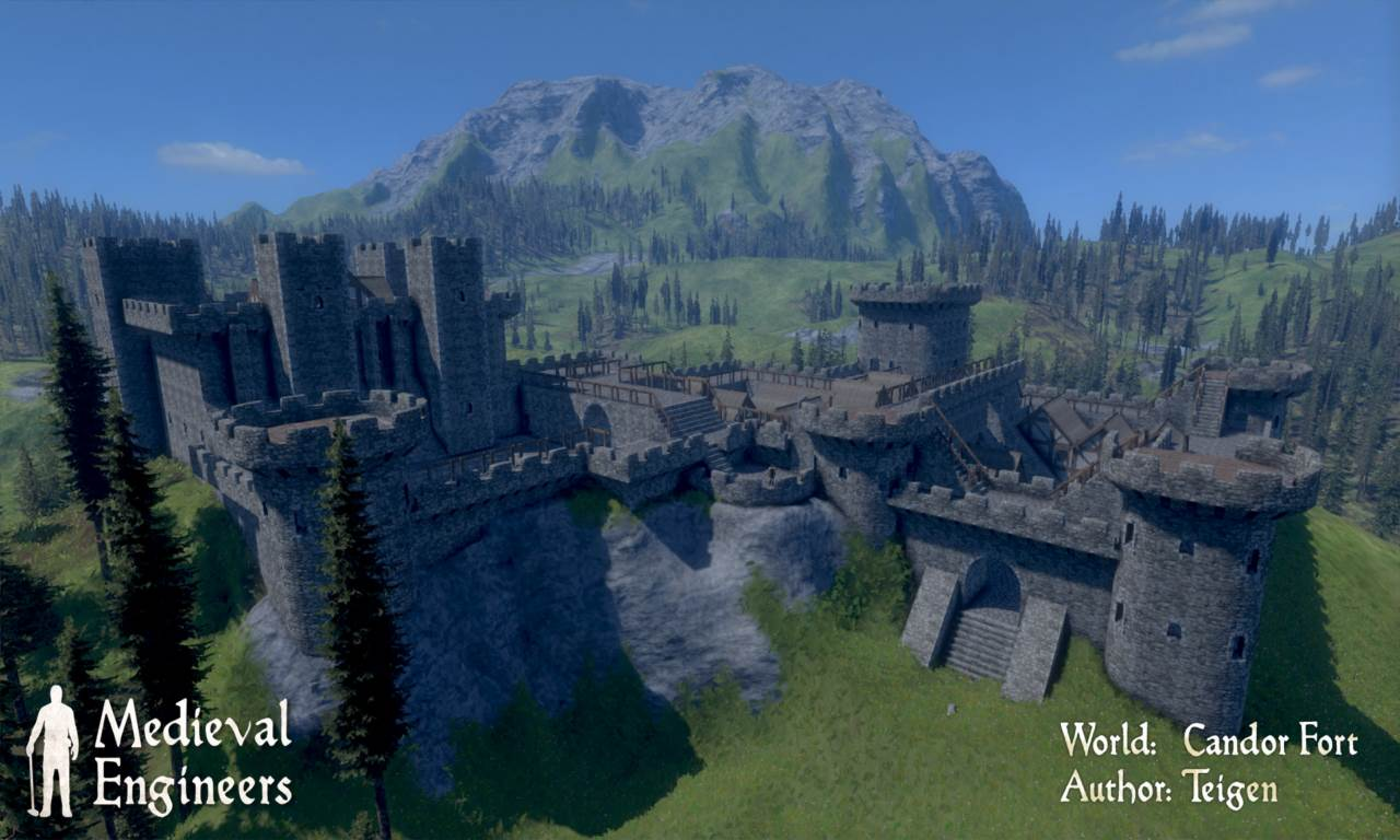 Screenshot Game Medieval Engineers Update 0.3.5
