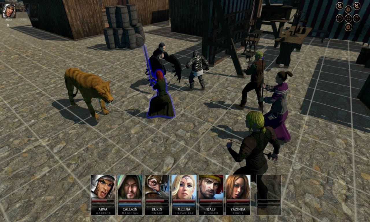 Download Game Realms of Arkania Star Trail