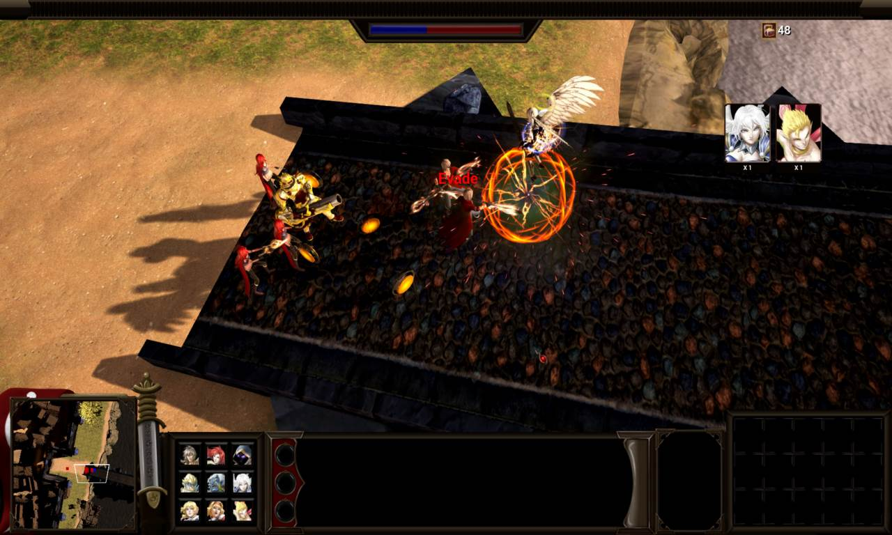 Screenshot Game Shadow Heroes Vengeance In Flames Chapter 1